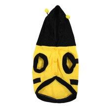 Наряжаться в костюм Шмель пчелы Йорки Doogie собака пальто Одежда для животных S