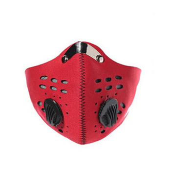 PM 2.5 Anti Mouth Masks Anti Dust Face Mouth Mask Dustproof Outdoor Travel Protection With Breath Valve Masks