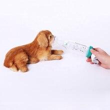 Wondcon animal de estimação veterinário aerossol câmara inalador asma usado para o tratamento da asma cão gato animal câmara aerossol