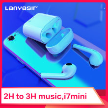Lanyasir Mini i7s TWS Wireless Bluetooth Earphone Headset With Charger Box for iPhone Ios Bluetooth Earbuds Stereo Earpiece fone цена