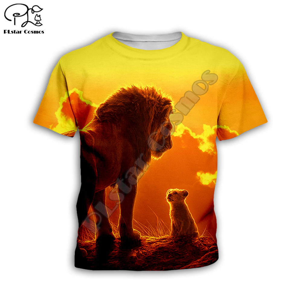 mufasa Simba The Lion King hoodies tshirt Kids baby 3D print zipper Sweatshirts boy girl Long sleeve Top Pants for Dropshipping in Matching Family Outfits from Mother Kids