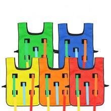 5 pieces of outdoor education garden vest toys grab queue tr