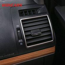 Embellecedores de salida de acero inoxidable para coche, cubierta Interior para Prado 150, 7 Uds., Toyota Land cruiser prado FJ150 2018 2019 2020