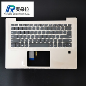 US IND New Original For Lenovo ideapad 520S-14 520S-14IKB 7000-14 Palmrest Assembly w/ US backlit Keyboard and FP HOLE GOLD