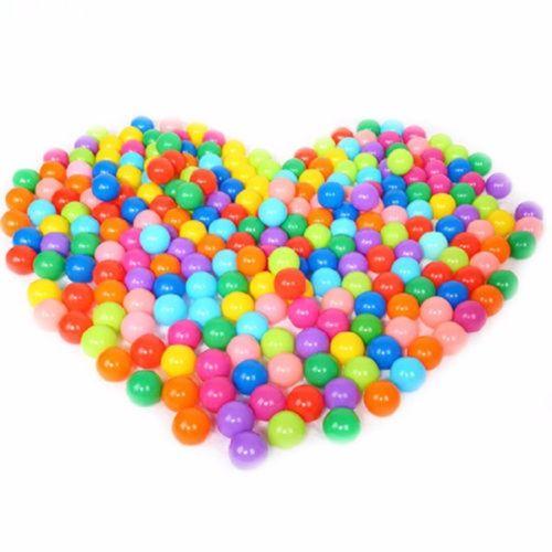 Ocean Balls 20/50/100x Colorful Soft Plastic Ocean Water Pool Ball Funny Kids Swim Pit Toys