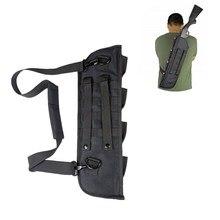 19 zoll Tactical Shotgun Scheide Tasche Molle Schulter Schlinge Fall Padded Gewehr Holster