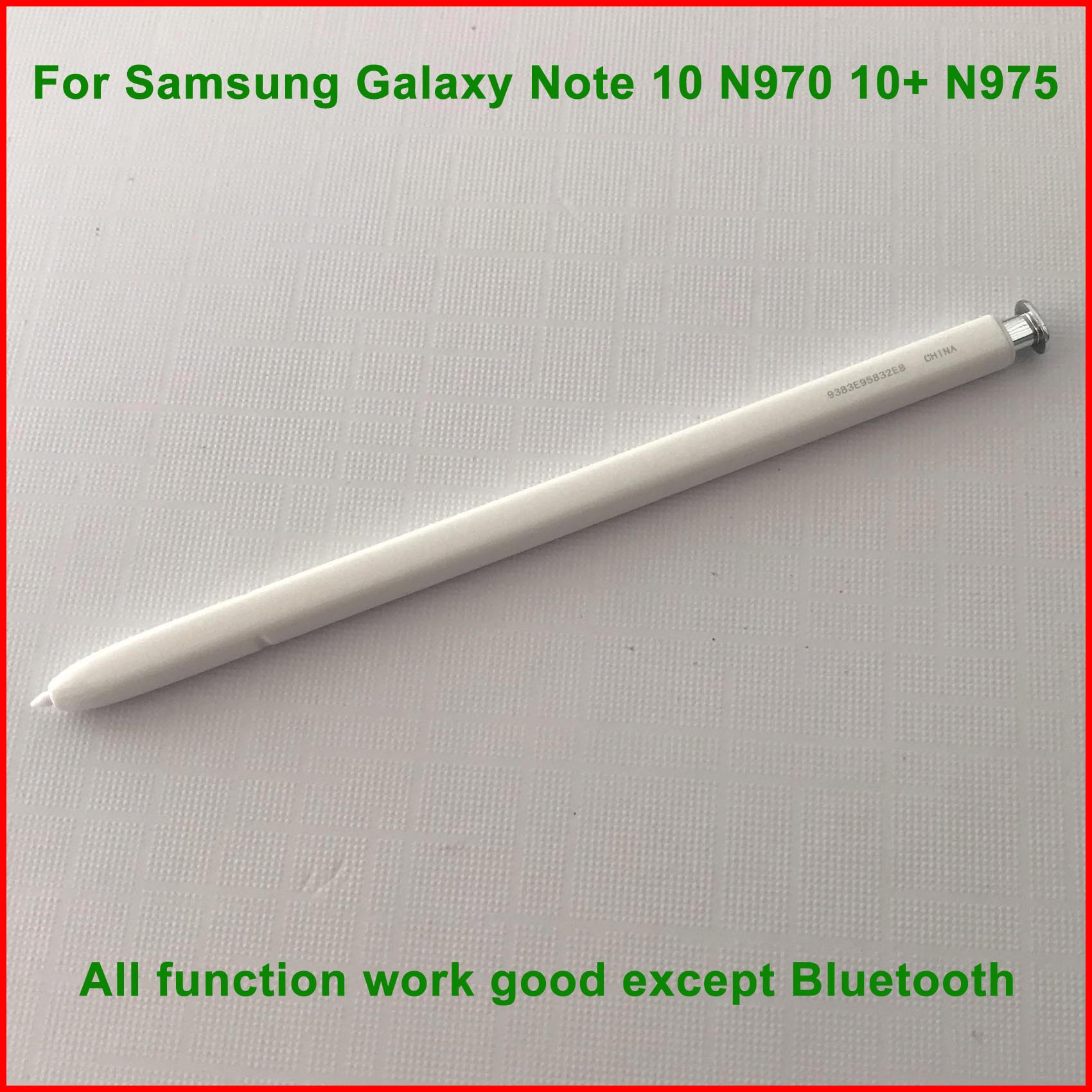 Smart pression S stylet capacitif pour Samsung Galaxy Note 10 N970 10 + N975 stylet actif téléphone portable s-pen