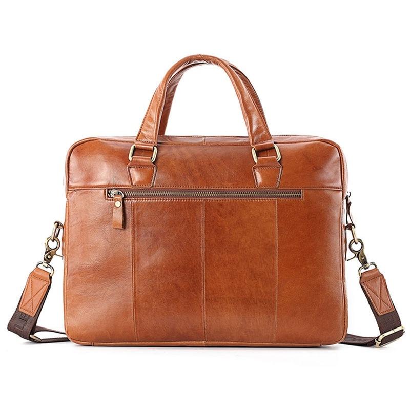 PI UNCLE Business Top-Handle Handbag 14 Inch Computer Laptop Briefcase Men Crossbody Shoulder Bag Men's Messenger Bags