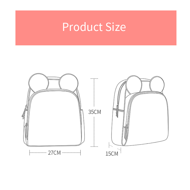 Disney 4 Style  Waterproof Material Mummy Diaper Bag Multi-Function Nappy Backpack Large Capacity Baby Bag Insulation Bags