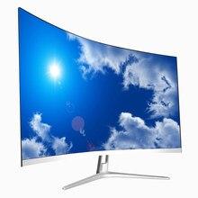 Çerçevesiz 27 inç 2K 144hz kavisli ekran LED PC oyun monitörü