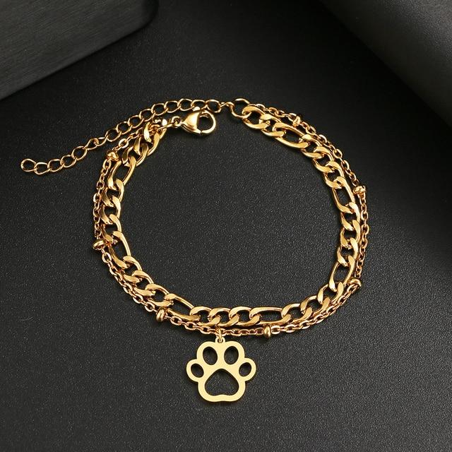 Dog Paw Classic Bracelet 1