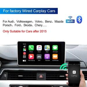 Image 2 - CarlinKit 3.0 New 2021 Wireless Carplay Adapter WIFI For SKODA Original Car With Wired To Wireless Plug &Play Carplay2air IOS 14