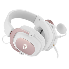 Redragon-auriculares H510 Zeus con 2 juegos por cable, cascos con cojín de sonido envolvente 7,1, micrófono desmontable, inmersiva, para PC/PS4/teléfono NS