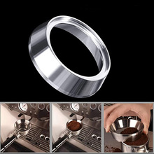 Espresso Dosing Funnel, MATOW Stainless Steel Coffee Dosing Ring Compatible with 58mm Breville Portafilter stainless steel 51mm 53mm 58mm coffee powder ring intelligent dosing espresso barista bowl funnel portafilter coffee accessories