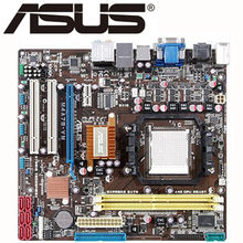 For AMD 780G ASUS M4A78-VM Motherboard Socket AM2/AM2+/AM3 Systemboard DDR2 16GB M4A78 VM Desktop Mainboard USB 2.0 SATA II Used(China)