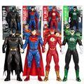 Подлинный авторизованный кукла супергероя DC Лига Справедливости Супермена, Бэтмена и человека-флэш-зеленый Фонари, игрушка, подарок на ден...