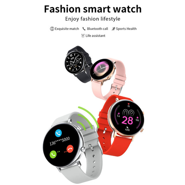 Smart Watch MT2502D Bluetooth V4.2 V3.0 Heart Rate Sports Watch IP68 Waterproof Rechargeable Smartwatch for Android iOS 1