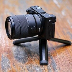 Image 5 - Mini tablet tripé de metal com ballhead ajustável para osmo móvel 3 cardan acessórios iphone andriod dslr câmera tripé kit
