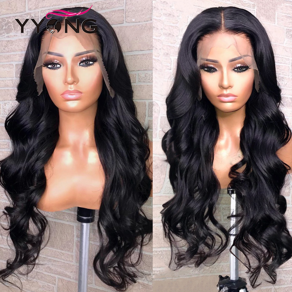 YYong Body Wave Lace Front  Wigs  150% Density   Lace Front Wigs Low Ratio  2