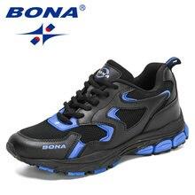 BONA 2021 nowi projektanci buty sportowe do biegania kobiety moda Sneakers wygodne trening sportowy obuwie damskie