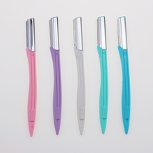 3 Pcs/Lot Eyebrow Razor Trimmer Eyebrow Shaver Hair Shaver Remover Blade Safe Epilator Eyebrow Scissors  Face Makeup Beauty Tool|Razor| |  - AliExpress