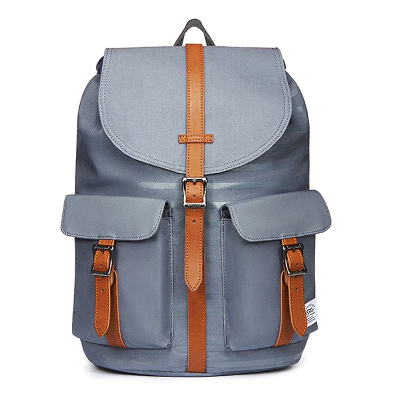 Nylon Flax Oxford Cloth Backpack Fashion Middle School Students School Bag for Both Men And Women Outdoor Backpack EP10