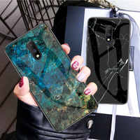 Marble Patterned Glass Phone Case For Asus Zenfone Max Pro M1 ZB602KL ZB601KL M2 ZB631KL Protective Shockproof Cover Case Fundas