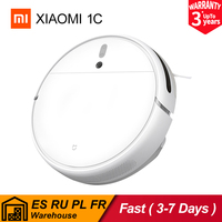 Xiaomi-Robot aspirador Mijia 1C Mi, aspiradora para barrer, fregar, depósito de agua, succión ciclónica de 2500PA, planificación de polvo, limpieza inteligente inalámbrica