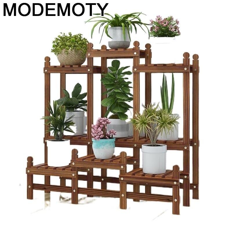 Estante Plantas Estanteria Para Macetas Indoor For Scaffale Porta Piante Dekoration Balcony Shelf Plant Rack Flower Stand