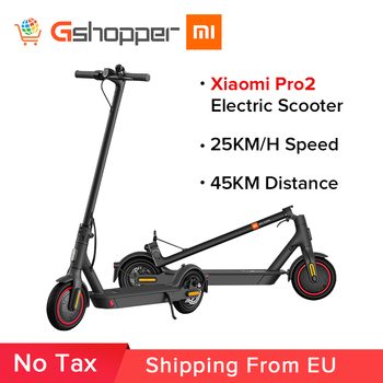 Xiaomi Mi Electric Scooter Pro 2 Original Lightweight Mijia Foldable Skateboard 25km/h 45km Distance ABS 12800mah