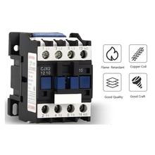 CJX2-4011 LC1 AC Contactor 40A 3Phase NO Coil Voltage 380V 220V 110V 36V 24V 50/60Hz Din Rail Mounted 1NO Normal Open