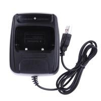 רדיו ווקי רדיו Li-ion USB מטען סוללות עבור Baofeng BF- 888S Retevis H777 USB ווקי טוקי Charge מטען Talkie Walkie רדיו (2)