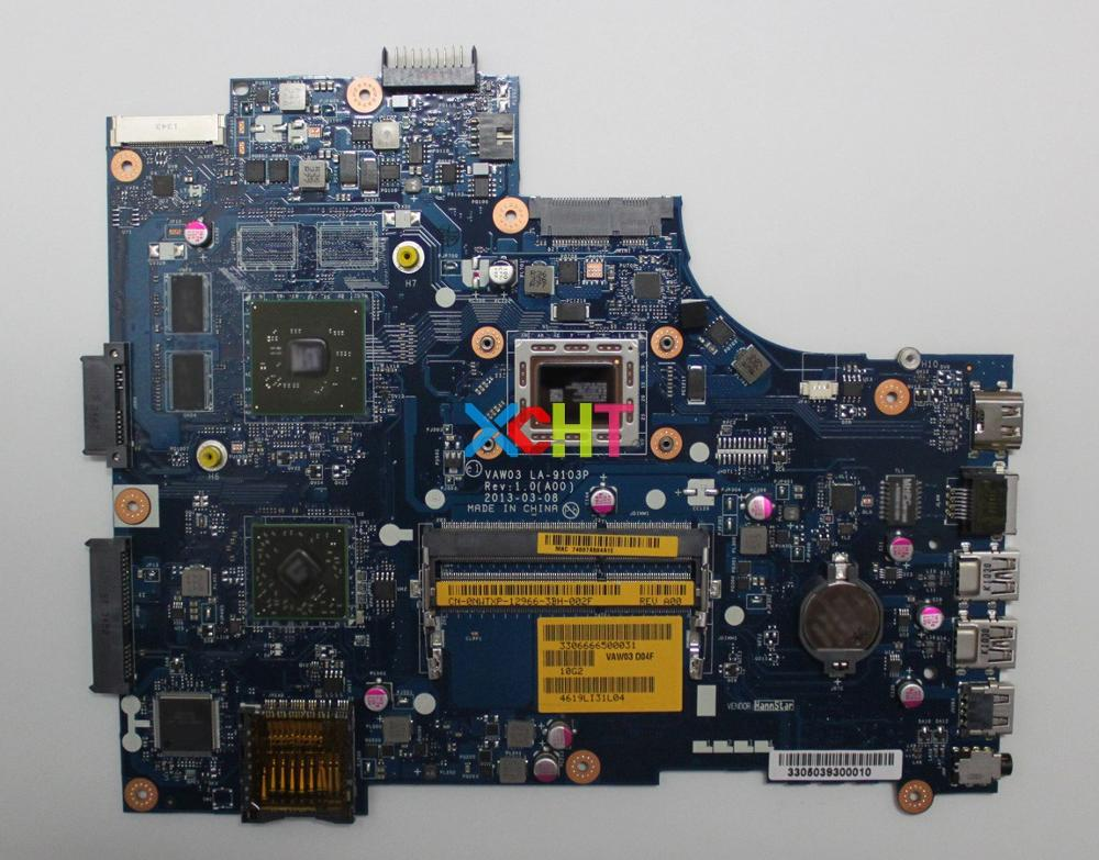 NWTXP 0NWTXP CN-0NWTXP LA-9103P w A6-5345M w HD8670M GPU for Dell Inspiron M531R 5535 PC Laptop Motherboard Tested