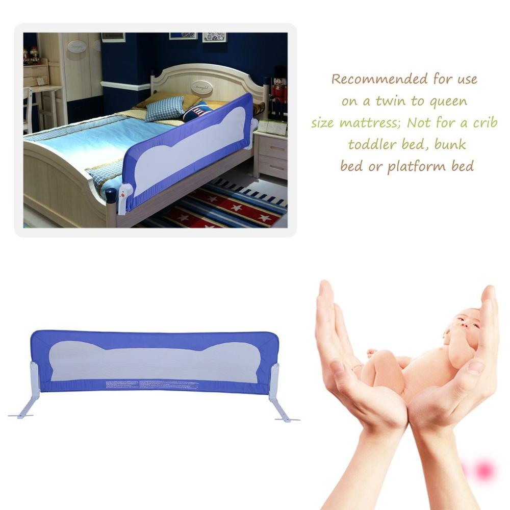 Складное ограждение для малышей предохранительное ограждение для сна 102*42 см для детской кроватки