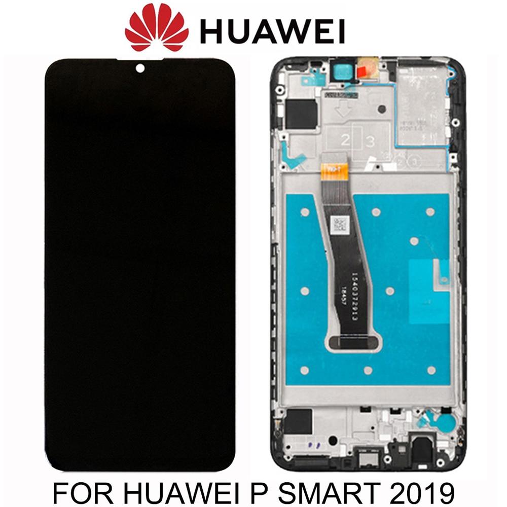 6,21 дюймовый оригинальный ЖК-дисплей для Huawei P Smart 2019 версия ЖК-дисплей + сенсорный экран дигитайзер в сборе сменный ЖК-дисплей