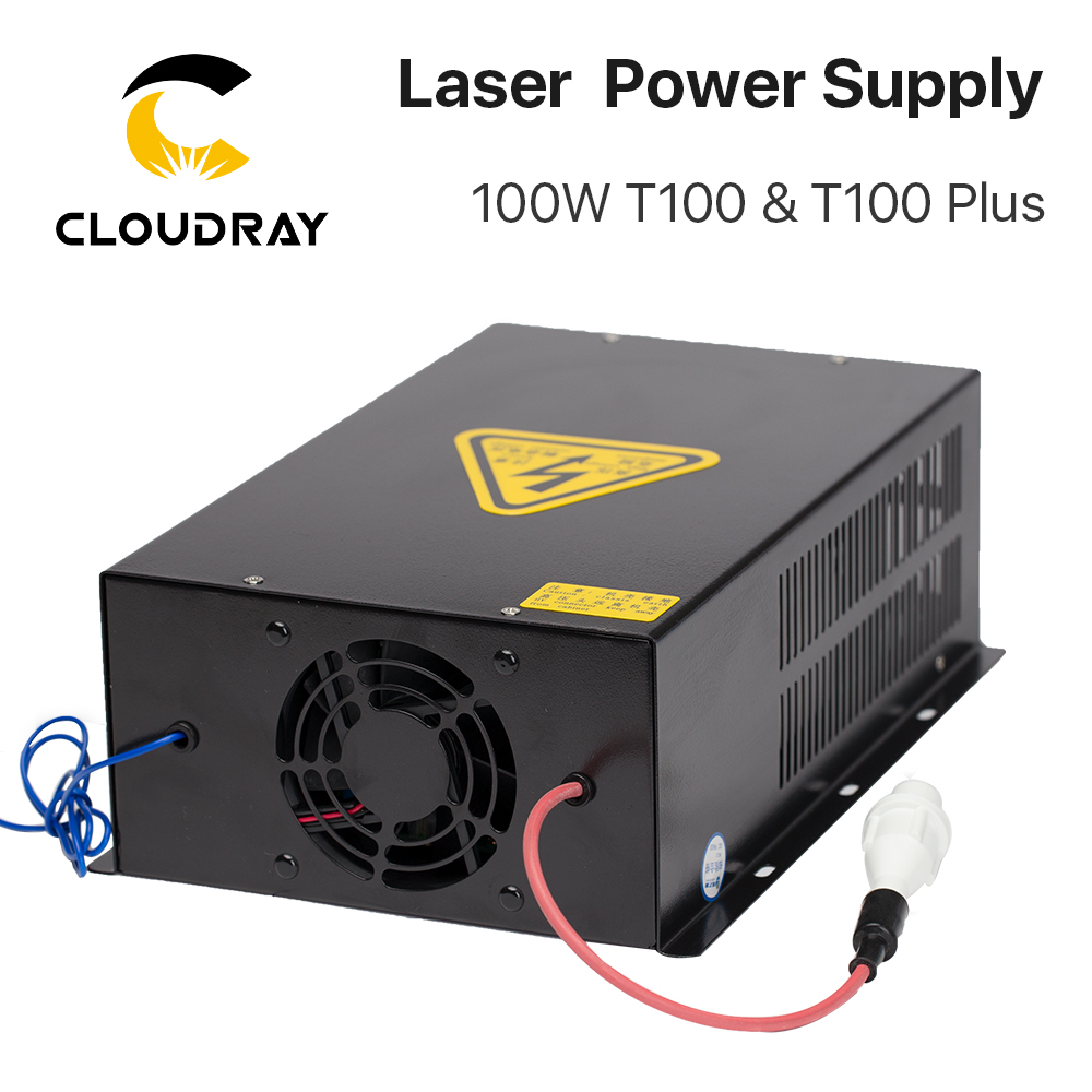 """""""Cloudray"""" 80W – 100W CO2 lazerio energijos tiekimo šaltinis - Medienos apdirbimo mašinų dalys - Nuotrauka 4"""