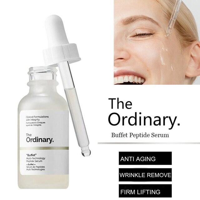 9 Kinds The Ordinary Hydration Skin Moisturizing Formula Plump Smooth 30ml Face Serum Exfoliation Remove Scars Blemishes Make up 3