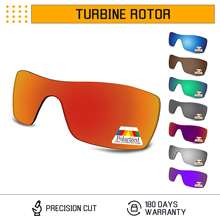 Bwake Polarized Replacement Lenses for-Oakley Turbine Rotor OO9307 Sunglasses Frame - Multiple Options