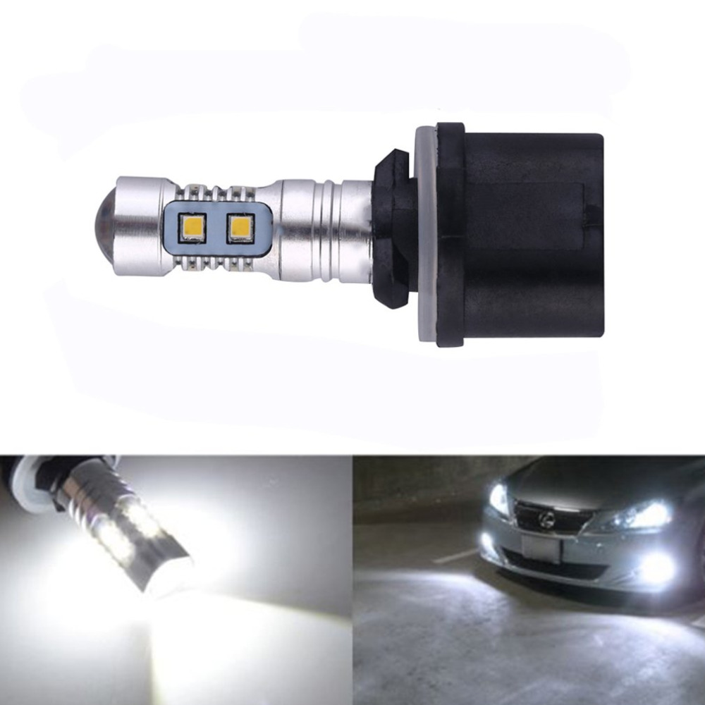 newHigh quality 1pc 50W HID White 880 H27 <font><b>PG13</b></font> 899 890 Projector LED Bulbs For Auto Car Fog Lights Driving Daytime Running lamp image