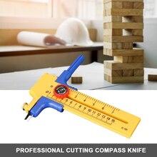 Craft Rotary Circle Cutter Compass Circle Cutter Cutting Tool Adjustable Compass Circle Cutter Dia 10-150mm Circular Circle Cut