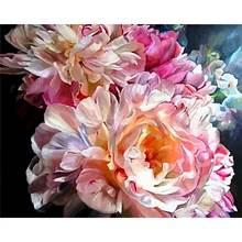 Gatyztory картина по номерам для взрослых с изображением розовых