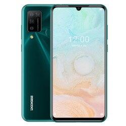 Мобильный телефон DOOGEE N20 Pro, глобальная версия, 6 ГБ ОЗУ 128 Гб ПЗУ, Восьмиядерный процессор Helio P60, экран 6,3 дюйма FHD +, Android 10, ОС 4G LTE