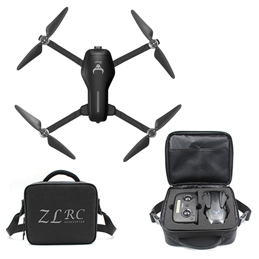 New SG906 PRO GPS <font><b>Drone</b></font> 2-axis Anti-shake Self-Stabilize Stable Gimbal 25 Mins Flight WiFi FPV 4K Camera <font><b>Brushless</b></font> RC Quadcopter image