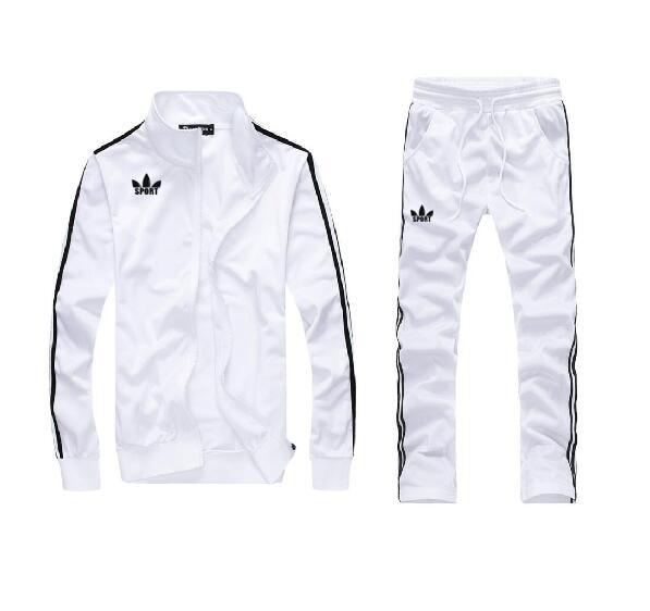 Man Walking Full TrackSuit Jogging Top Bottom Sport Suit Sets Pants Outerwear Trousers