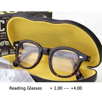Reading Glasses Men Johnny Depp Eyeglasses Woman Brand design Computer Goggles male Vintage Presbyopic Eyeglasses