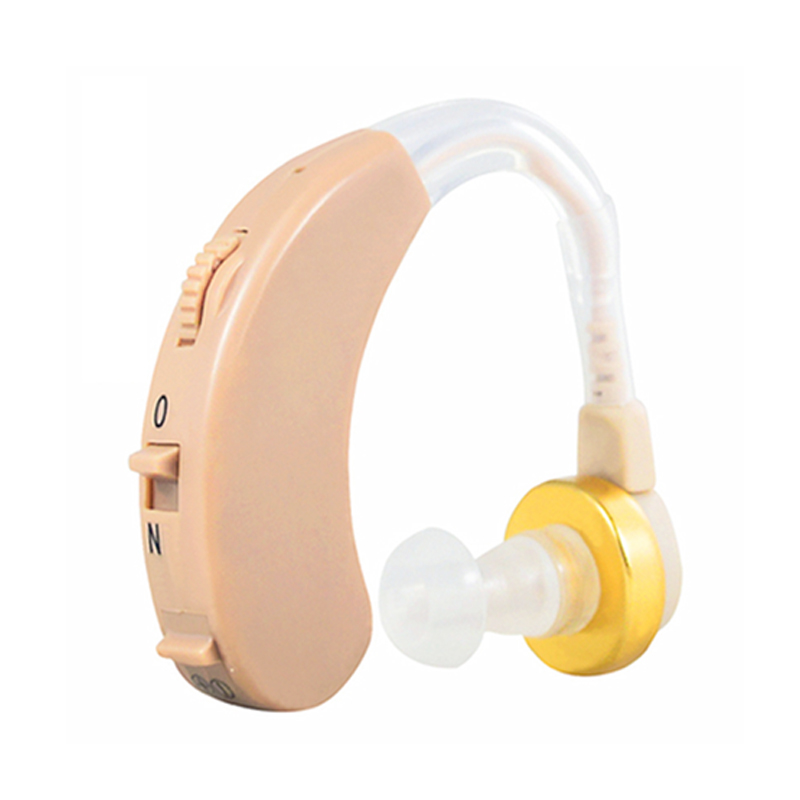 F138 Ear Hearing Aid Device Sound Amplifier Super Mini Ear Hearing Amplifier Volume Adjustable Hearing Aids For The Elder Deaf