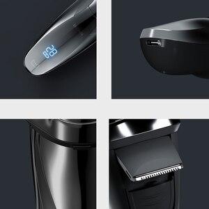 Image 5 - Enchen Blackstone 3 Elektrische Scheerapparaat 3D Triple Drijvende Blade Hoofden Scheren Scheermessen Mannen Baard Trimmer Usb Oplaadbare IPX7