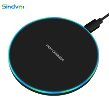 Sindvor 10W Fast Wireless Charger For Samsung S10 S20 S9 Note 10 USB Qi Charging Pad for iPhone SE 11 XS XR X 8 Plus Airpods Pro