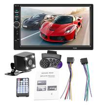 Hd 7 Inch Car Mp4 Card Machine Car Mp5 Player Bt Reversing Car Player For Android For Apple Connect Car Player(China)