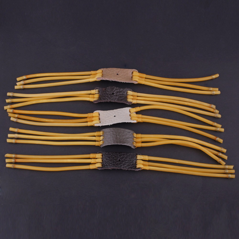 3pcs/5pcs/lot Powerful Rubber Band 3050 For Slingshot Accessory Hunting Airsoft Sports Elastica Bungee Catapult Replacement